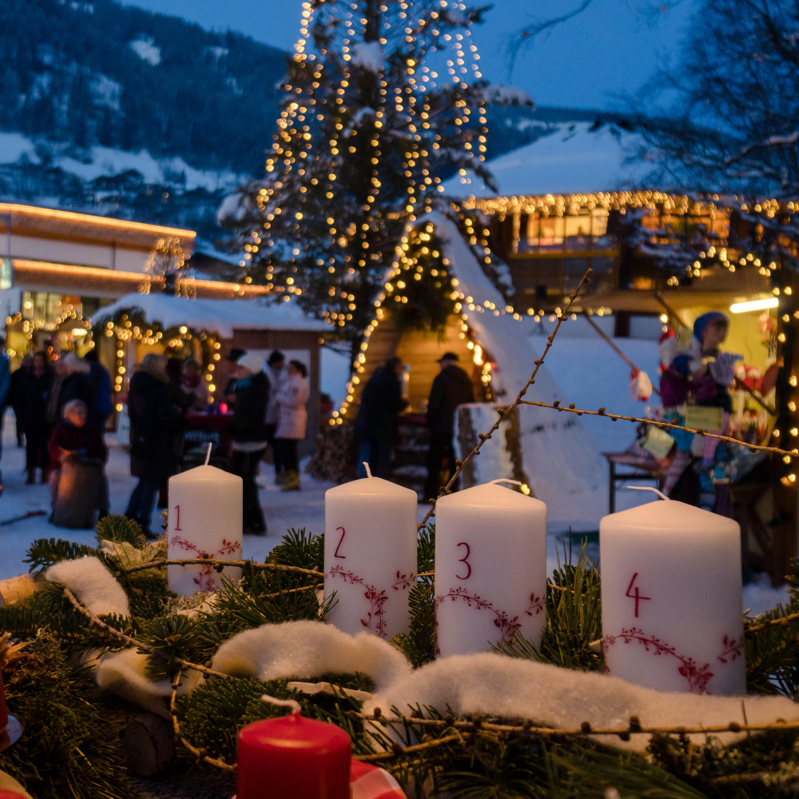 Alpiner Thermen Advent in Kärnten, Bad Kleinkirchheim - Bergadvent in den Nockbergen