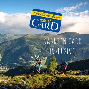 Kärnten Card inklusive im Landhaus Apartments Prägant