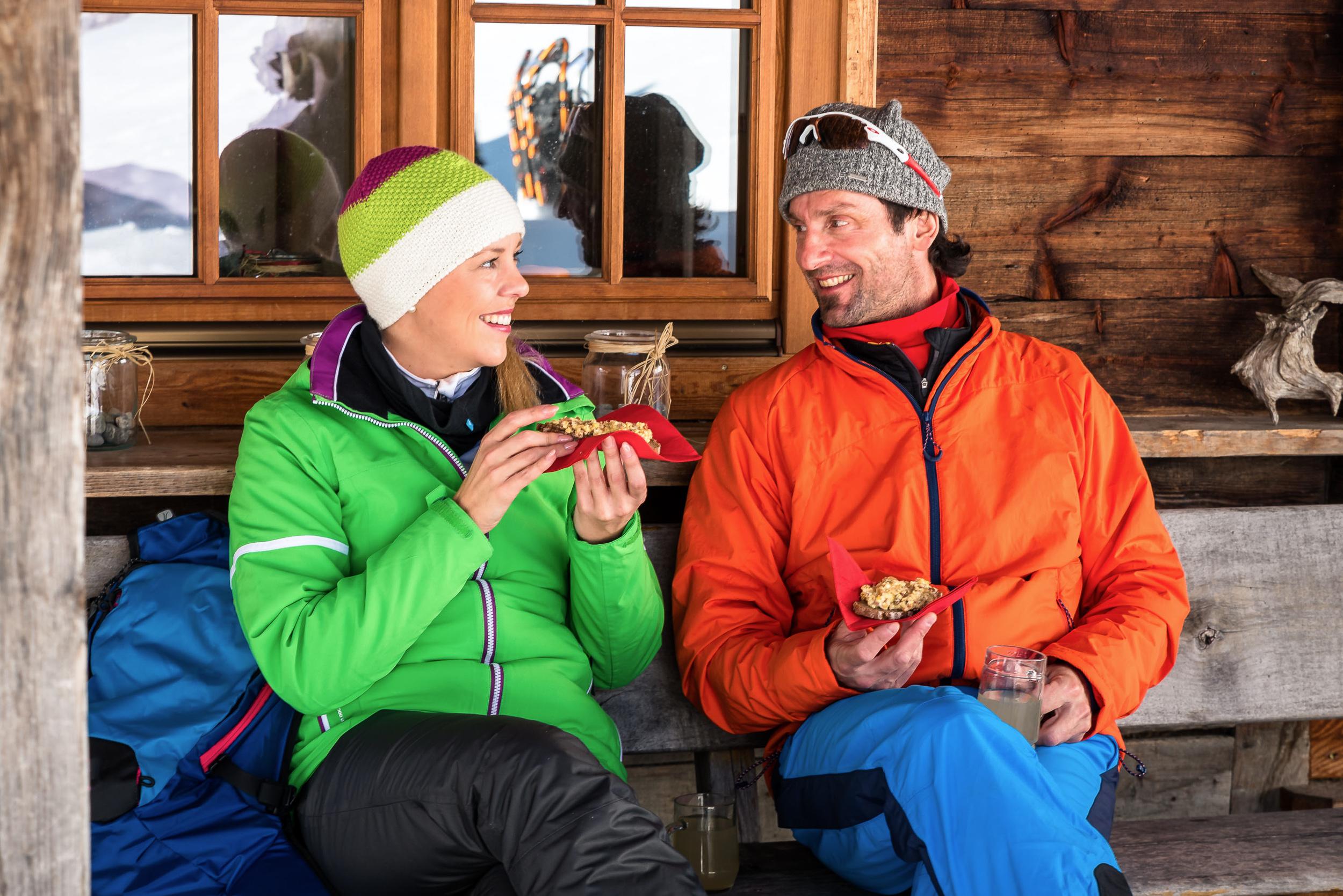Schneeschuhwandern und Kulinarik in Bad Kleinkirchheim, Kärnten