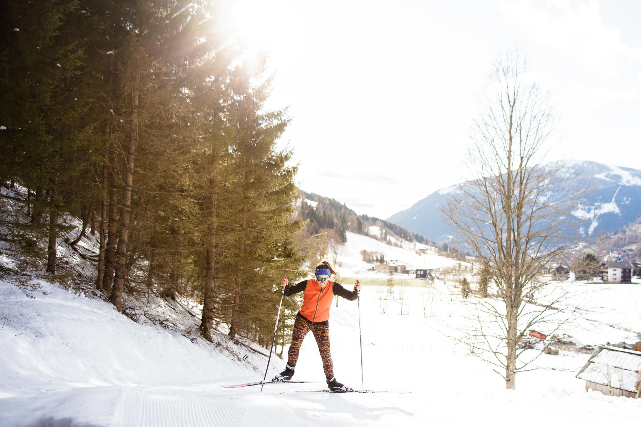 Sportloipe in Bad Kleinkirchheim bei der Sportarena