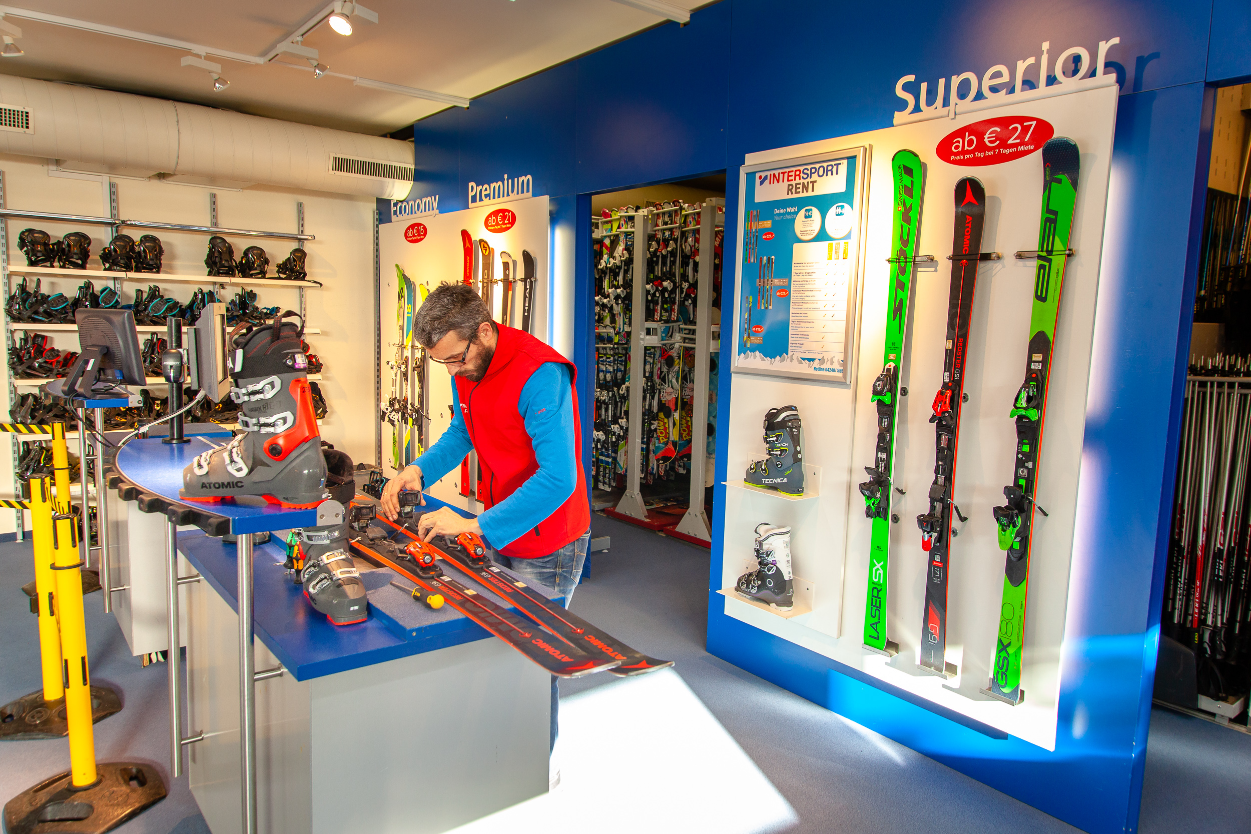 Skiverleih in Bad Kleinkirchheim - Intersport Rent