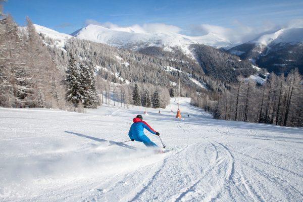 Skifahren_Panorama_Biosphaerenpark © BRM - Mathias Praegant
