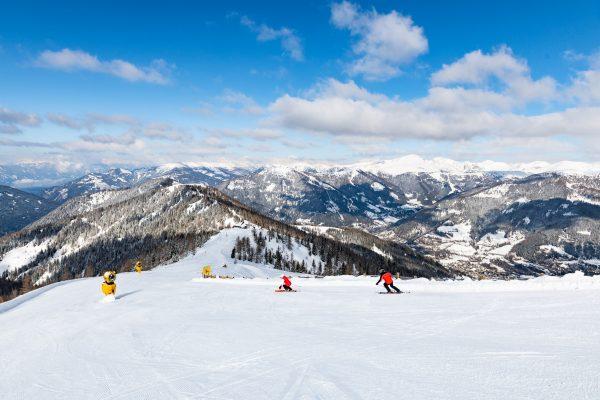Skifahren_Panoramablick © BRM - Franz Gerdl